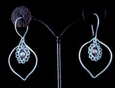 crochet earrings by suzane beaubrun