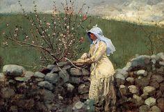 File:Winslow Homer - Peach Blossoms, 1879.jpg