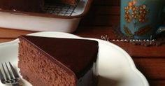 口溶けのしっとり感ときめ細やかさ、チョコの滑らな口当たり♡至福のケーキ♡メレンゲさえ出来れば失敗しないはず(o^^o)