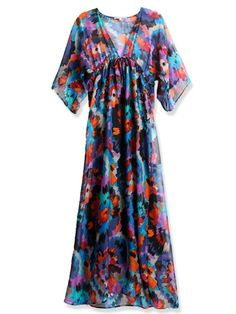 This would be good for Thanksgiving cause its loose and comfy lots of room for eatin in this dress . LOL