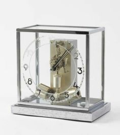 """Ato"" table clock, Junghans, ca. 1930"