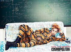 G-Dragon // Cosmopolitan Korea // July 2013