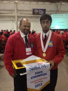 Skills USA Gold Medal Winner