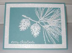 Dazzling Diamonds Christmas by eured99 - Cards and Paper Crafts at Splitcoaststampers . Lost Lagoon & Dazzling diamonds