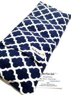 FLAX HEATING PAD - Microwave Hot Pack - Heat Therapy - Removable Washable Covers - Flax Seed Bag - Christmas Gift for Her, Fibromyalgia