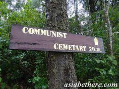 Communist Cemetery, Phu Hin Rongkla National Park