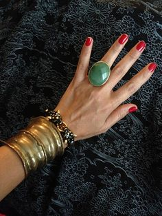 #Brass & #Jade