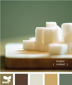 Would love to have a room using these colors (oops, I do! these are the colors in my kitchen!) <3 <3 <3 <3 <3