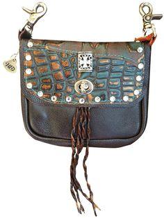 93c6be6bd9 Glittery Cross Super Single Pocket Hip Bag