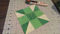 Green Spinning Star?:
