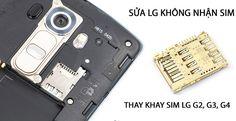 Sửa chữa điện thoại LG giá rẻ tại Hà Nội: Điện thoại LG không nhận sim là do đâu?