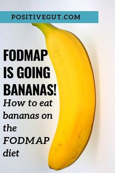 Bananas are a healthy source of fiber and vitamins and you CAN eat them on the FODMAP diet. Here's what you need to know about portion sizes and FODMAP. Fast Metabolism Diet, Metabolic Diet, Dieta Fodmap, Healthy Vegetable Recipes, Vegetarian Recipes, Nutritious Smoothies, Dried Bananas, Eating Bananas, Low Calorie Dinners