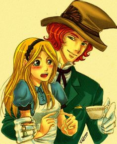 Alice and Mad Hatter by Esparafuso