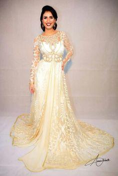 Beautiful Moroccan caftan for Bride