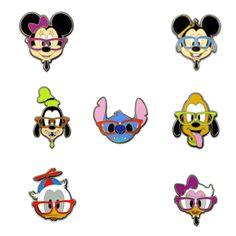Disney Nerds Mini-Pin Set to go with my Nerds lanyard