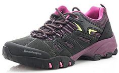 QOMOLANGMA Women's Hiking Shoes Skid-Proof Walking Sneaker For Running Trekking Outdoor Training. For product & price info go to:  https://all4hiking.com/products/qomolangma-womens-hiking-shoes-skid-proof-walking-sneaker-for-running-trekking-outdoor-training-2/