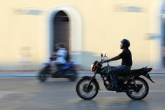 Motorbike in Mexico