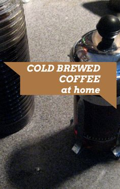 Daphne Oz made a Cold Brew Coffee recipe on The Chew, a delicious drink you can make at home to cut the cost of buying iced coffee at chain stores. http://www.foodus.com/the-chew-daphne-oz-cold-brew-coffee-recipe/