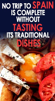 Although it is famous for its outstanding sandy beaches; food and drinks in Spain are really worth a try. Spanish food