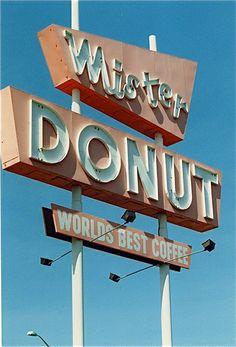 Mister Donut Sign