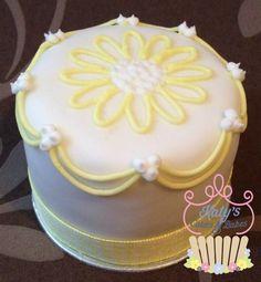 Yellow mini cake