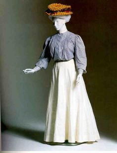 Outfit, by The Waldorf  Date  1903  Inventory #  E016  Beverley Birks