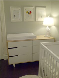 ikea dresser changing table | IKEA Mandal Dresser/changing table | The Kids' Room