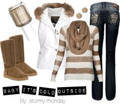 """""""Baby It's Cold Outside"""" by stormy-monday on Polyvore"""