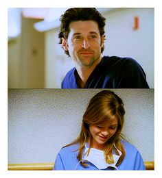 MerDer - grey's anatomy can someone look at me this way? haha