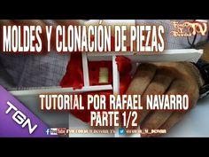 MOLDES Y CLONACIÓN DE PIEZAS TUTORIAL POR RAFAEL NAVARRO PARTE 1/2 - YouTube