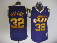 NBA Youth #32 blue  jersey
