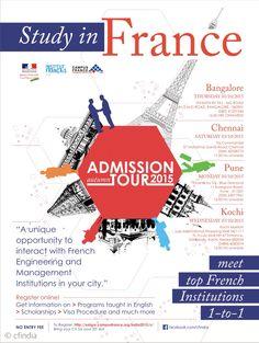Admission Tour 2015 #admisstion #tour #poster #design