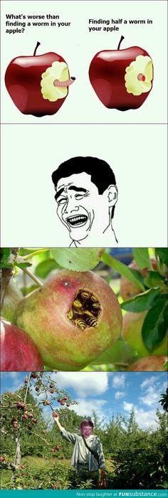 Bad luck Brian apple