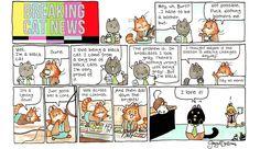Breaking Cat News Comic Strip, November 28, 2016     on GoComics.com