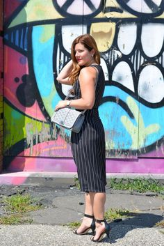 Crop top, Cullottes, Summer Style, Rebecca Minkoff, Cross Body Bag, New York Graffiti, Chicago Blogger