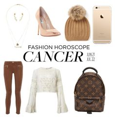 """Cancer me out"" by amy-hunt-ii on Polyvore featuring Charlotte Russe, Miss Selfridge, Louis Vuitton, J Brand and Dune"