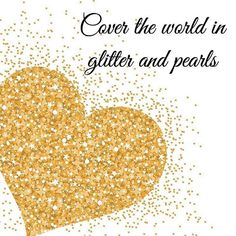 Just what we intend to do. #pearls #pearljewellery #glitter
