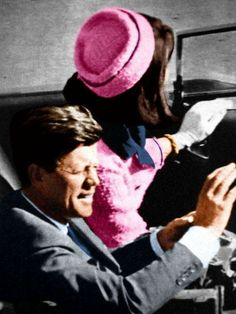 JFK in Dallas. Dallas still plots to kill JFK, Dave Beckmann. When I drove thru on way to CA, he had armed guards there.