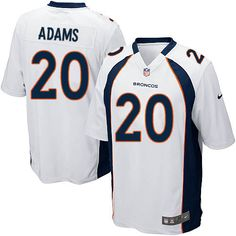 Men's Nike Denver Broncos #20 Mike Adams Game White NFL Jersey Sale Bengals A.J. Green 18 jersey