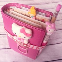 Lucy-Wonderland: Flexdori: how I updated the setup of my filofax flex - Hello Kitty Wonderful Day, Hello Kitty Items, Hello Kitty Things, Hello Kitty Purse, Hello Kitty Collection, Kawaii Shop, Kikki K, My Melody, Weekly Planner
