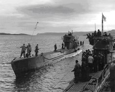 1945 U Boat Surrender. Loch Eriboll was the only Scottish rendezvous point for U-boats. In the space of two weeks, from May 10 to May 25, 1945, it turned into the biggest single gathering of the German submarine fleet anywhere in the world.