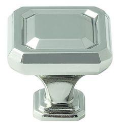 Wells 1-1/4in 32mm LGTH Knob in Polished Nickel BP36546PN