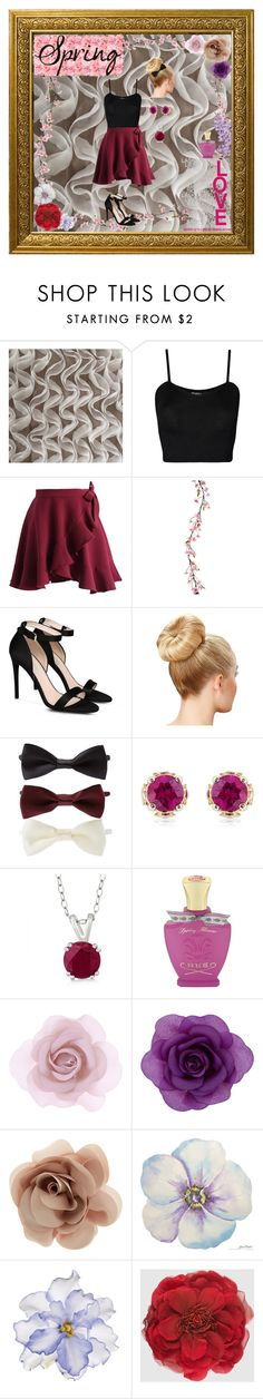 """""""What a Frill: Ruffles"""" by destinee-miller15 on Polyvore featuring WearAll, Chicwish, STELLA McCARTNEY, Forever 21, Theo Fennell, Allurez, Creed, Accessorize, Universal Lighting and Decor and Gucci"""