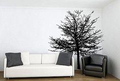 Wall Decal Sticker Bedroom tree branch forest tree room decor idea 149b