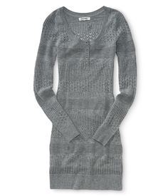 Knit Sweater Dress from Aeropostale