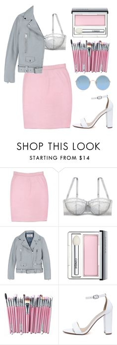 """""""Sexy Mermaid"""" by mode-222 ❤ liked on Polyvore featuring St. John, Le Mystère, Acne Studios, Clinique, My Delicious and Sunday Somewhere"""