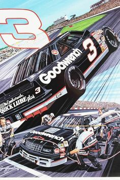 The Intimidator, Old Race Cars, Animation Reference, Dale Earnhardt, Paint Schemes, Auto Racing, Nascar, Thunder, Vape