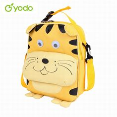 Colorful Tiger Girls Blue Preschool Toddler Childrens Backpack /& Lunch Box Set