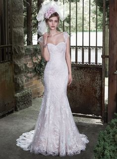 Svetlana - by Maggie Sottero Love this dress. Especially the color (Ivory over Vintage Mist) I think this is my FAVORITE.
