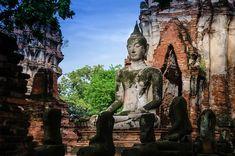 HD wallpaper: Buddha Statue in Masonry Temple, buddhism, religion, asia, asian Golden Buddha Statue, Buddhism Religion, Asian Wallpaper, Buddha Figures, Concrete Statues, Shiva Statue, Gautama Buddha, Latest Hd Wallpapers, Hindu Deities